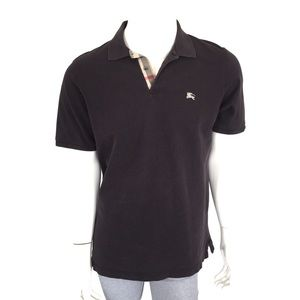 Burberry Brit Men's Polo Shirt Large Brown